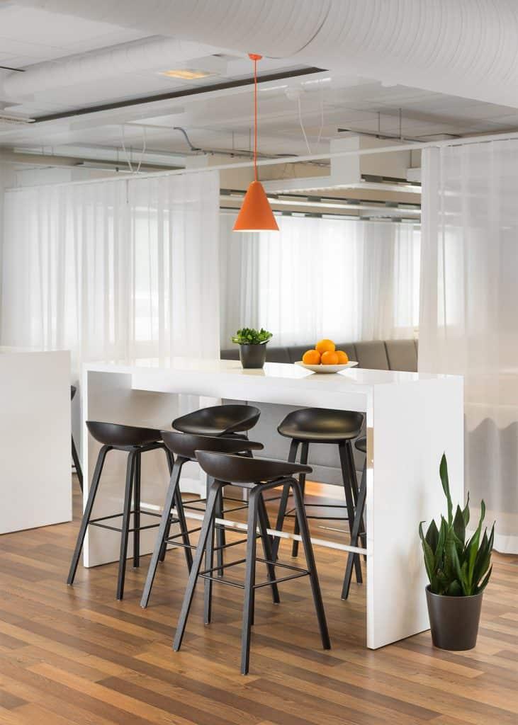 Heidi Risku - Break room interior design
